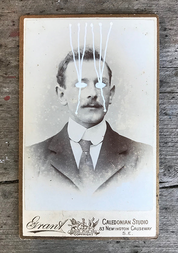 The Light Is Leaving Us All - Small Cabinet Card 12