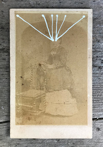 The Light Is Leaving Us All - Small Cabinet Card 38