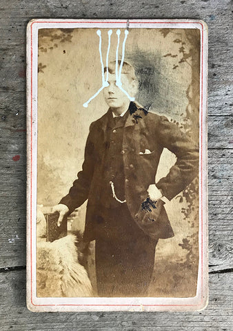 The Light Is Leaving Us All - Small Cabinet Card 42