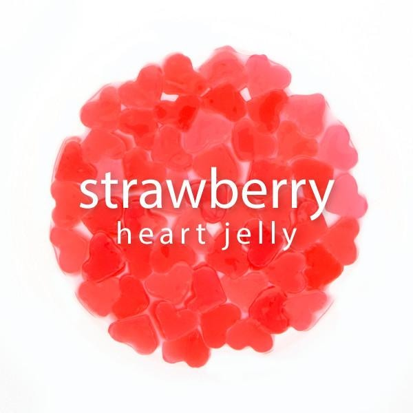 Strawberry Heart Jelly - BossenStore.com  - 1