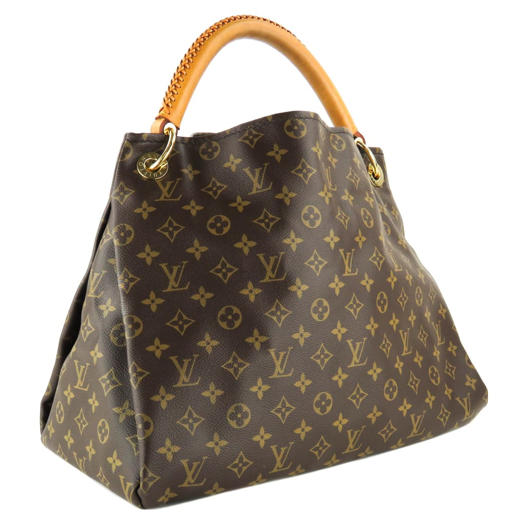 Louis Vuitton Brown Monogram Canvas Artsy MM Shoulder Bags - Shoulder Bags