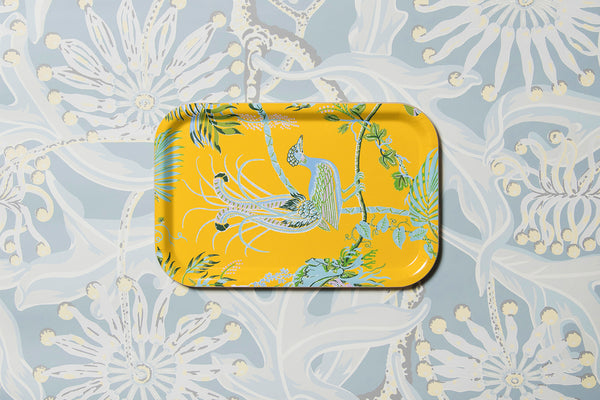 Paradise Pop Yellow Tray (Small)