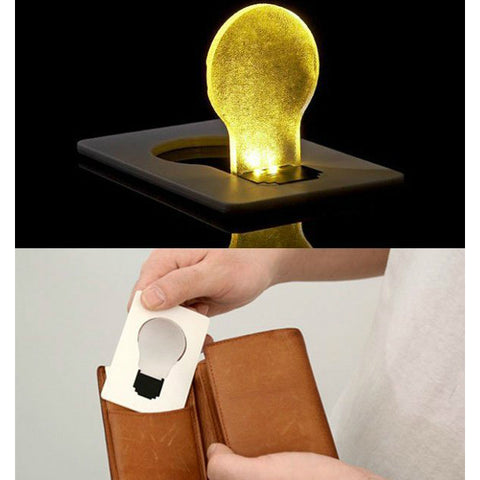 LED Wallet Credit Card Lights - oddgifts.com
