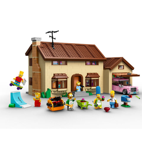 Lego Simpsons House - oddgifts.com