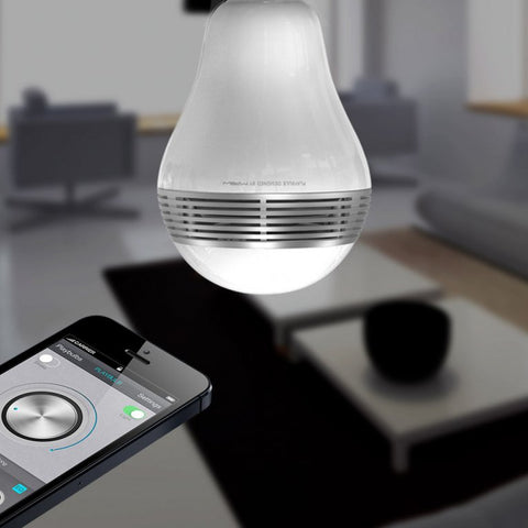 Smart LED Speaker Bulb - oddgifts.com