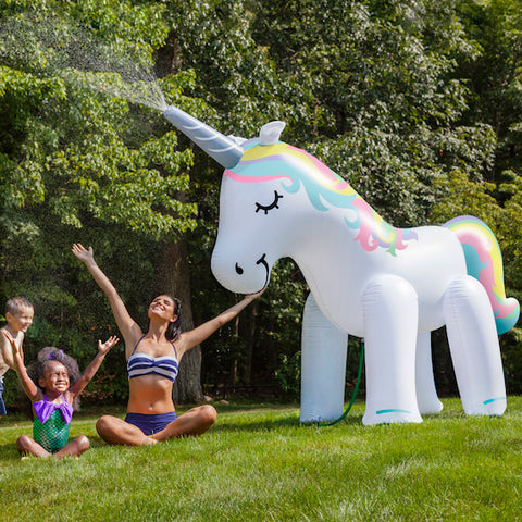 Ginormous Inflatable Unicorn Sprinkler - OddGifts.com
