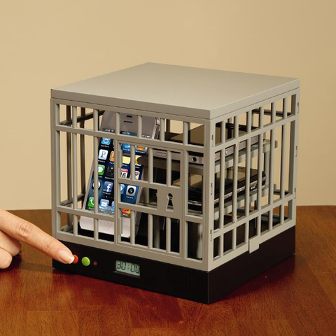 Cell Lock Up Phone Cage - OddGifts.com