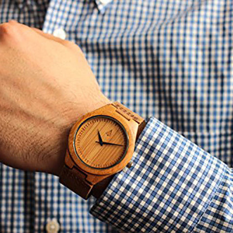 Men's Wooden Watch - OddGifts.com