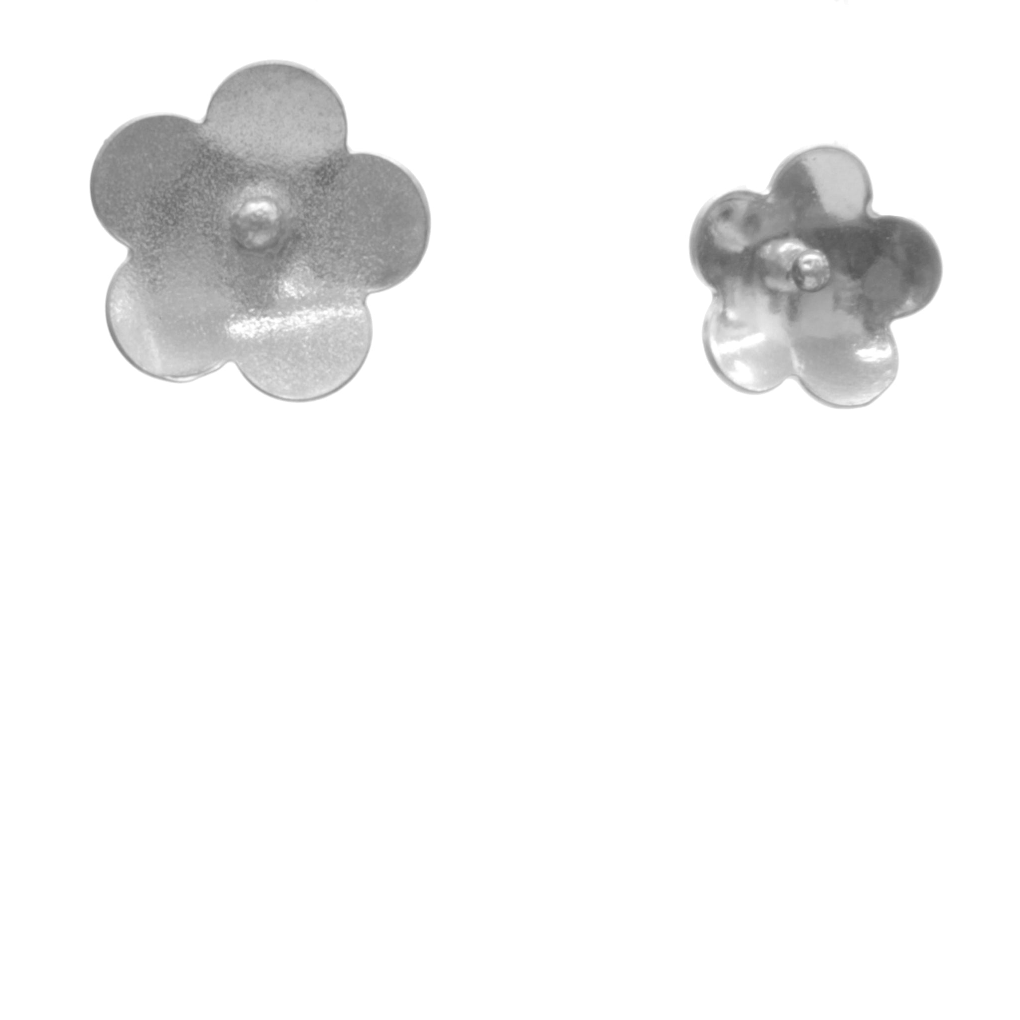 Forget-Me-Not Earrings, Single Blossom Stud