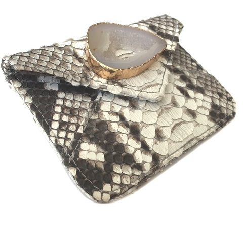 Abria Agate Card Holder