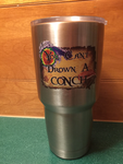 "Insulated ""Can't Drown a CONCH"" Tumbler"