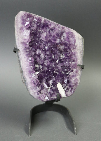 Amethyst from Uruguay, Custom Stand - 9.81 lbs.