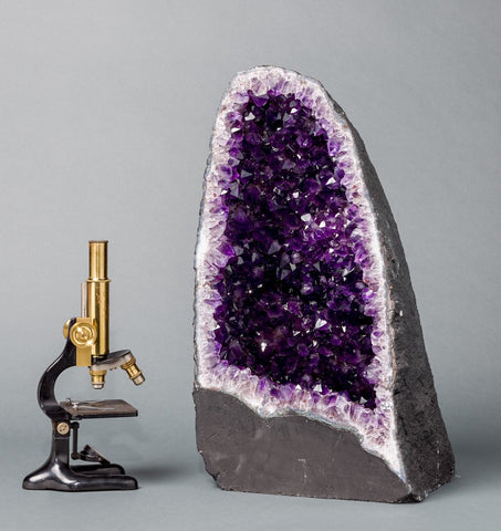 Amethyst Crystals For Sale: Amethyst Cathedral Geodes for Sale: Beautiful Amethyst Cathedral Geode - 100 lbs.
