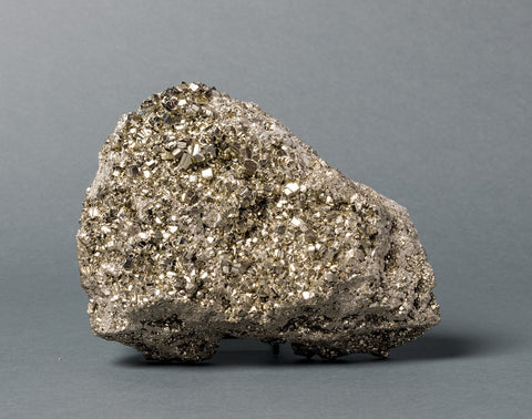 Pyrite Crystals for Sale: Exceptional Pyrite from Peru, 14 lbs.
