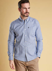 Barbour Endsleigh Oxford Check Tailored Long Sleeve Button Up Shirt