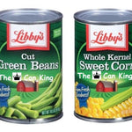 Libby's Green Beans and Corn Diversion Can Safe - 2 Pack