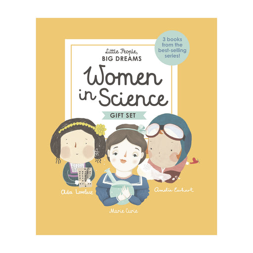 Little People Big Dreams: Women in Science Boxed Edition