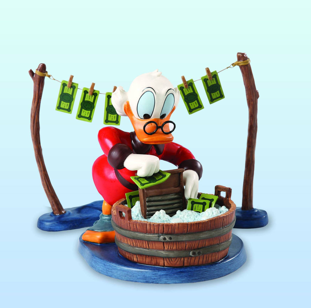Disney's Uncle Scrooge – Walt Disney Classics Collection –  ''Laundry Day'' Statue