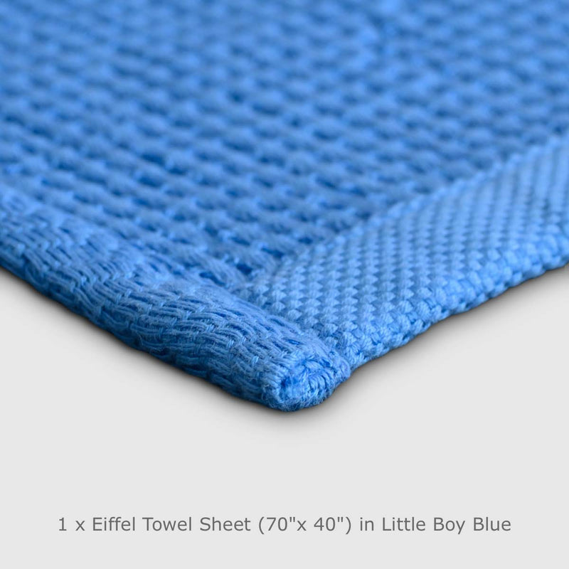 "Eiffel Towel: 1 x Sheet Towel (70""x40"") - TENCEL™ & Organic Cotton - Pre-Order ETA August 2019"