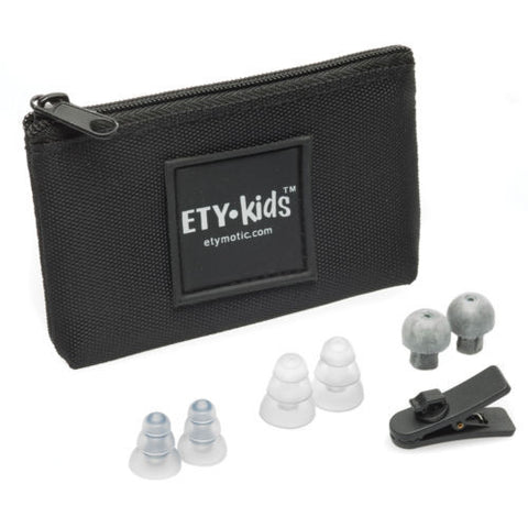 Etymotic Research Ety Kids 3 Safe Listening Volume Limited Earphones Mic & Remote