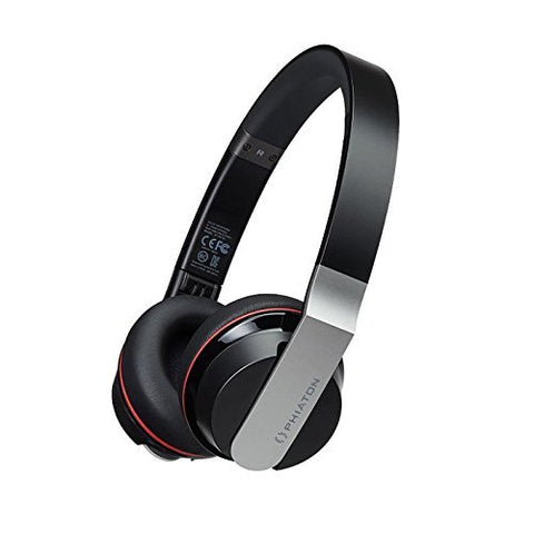 Phiaton BT 330 Black Wireless Touch Interface Headphones with Microphone