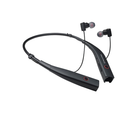 Phiaton BT 100 NC Bluetooth Noise Canceling Earphones - Black