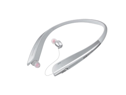 Phiaton BT 150 NC Silver Wireless Active Noise Cancelling & Touch Control Neckband Style Earphones with Mic