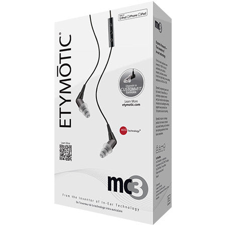 Etymotic Research mc3 Earphones with Mic & Remote