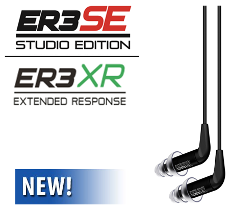 Etymotic Research ER3SE / XR  Earphones