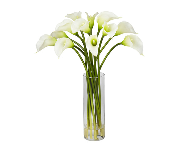 Calla Lilies White Flowers