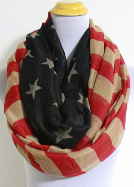 American Flag Scarf-United Tees-Live the American Dream