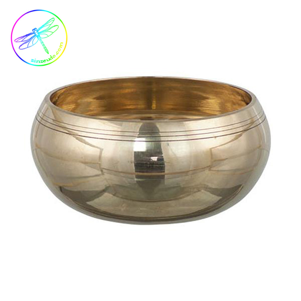 Singing Bowl Plain Brass 4""
