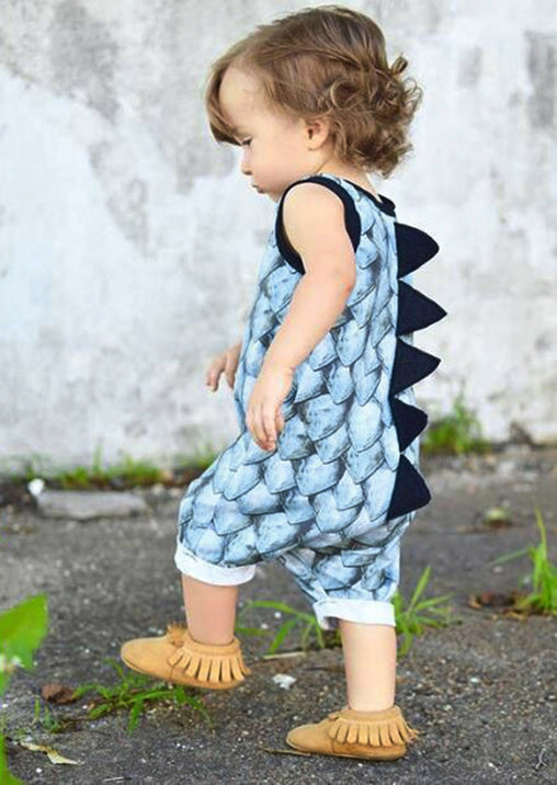 Girl Dinosaur Jumpsuit