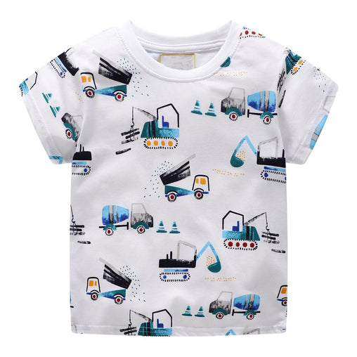 Construction Vehicle T-Shirt