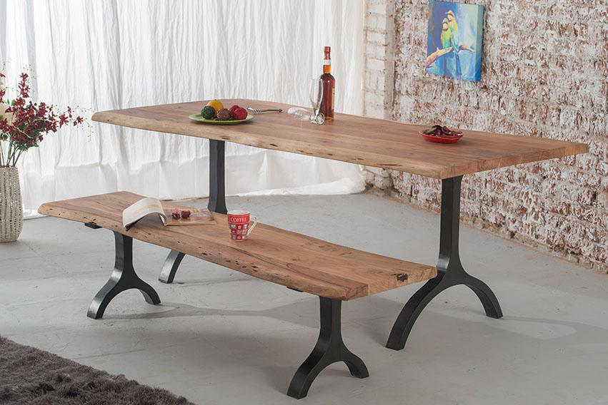 Solid Wood Indiana Mocha Dining Set