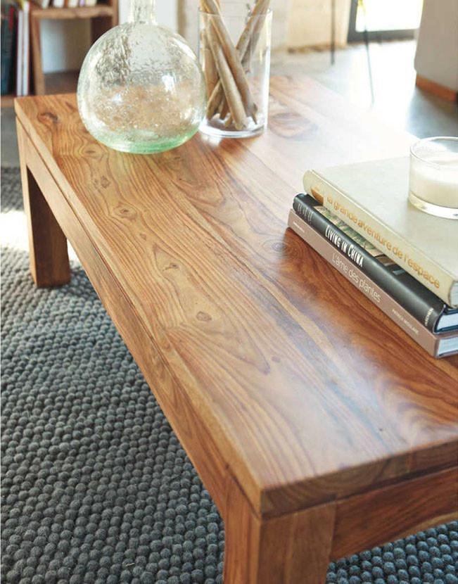 Solid Wood Voted Square Coffee Table