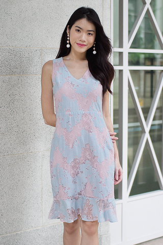 Annmari Lace Dress (Pastel)