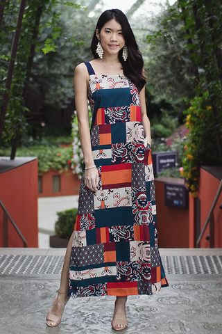 Ferli Maxi Dress (Tribal)