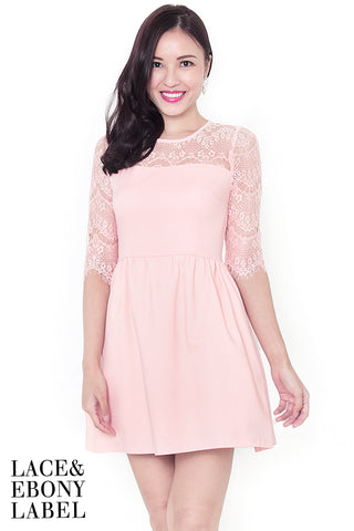 Amera Lace Dress (Blossom)