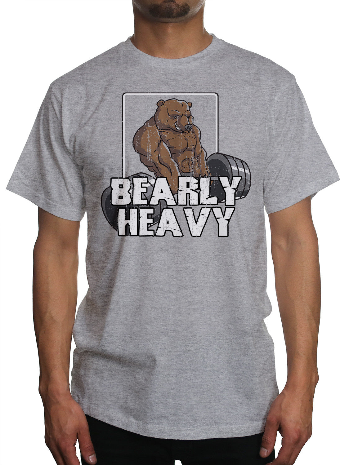 Bearly Heavy Gym Beast Lifting