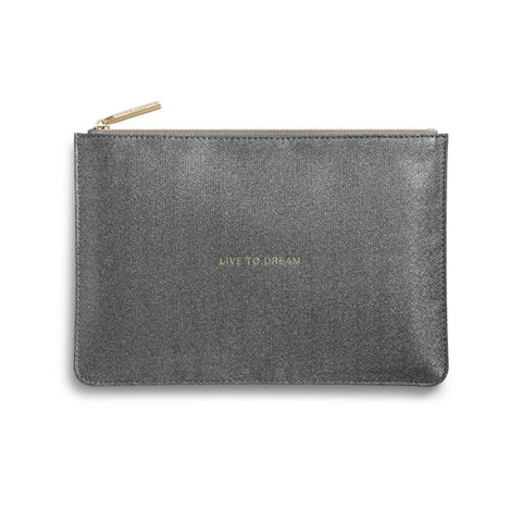 Katie Loxton Perfect Pouch- Live To Dream