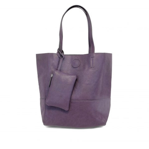 The All-Day Total Tote- Eggplant