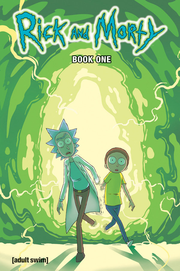 Rick and Morty Hardcover Book 1