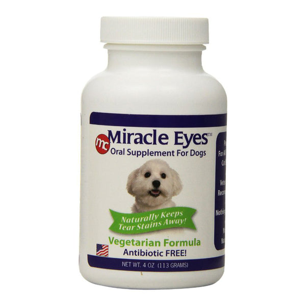 Miracle Eyes - Vegetarian Flavored Oral Supplement for Dogs 4oz