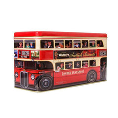 Surtido de galletas Walkers London Bus