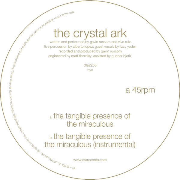 The Crystal Ark - The Tangible Presence Of The Miraculous