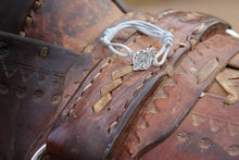 Load image into Gallery viewer, Equestrian Adventuress Silver Bracelet