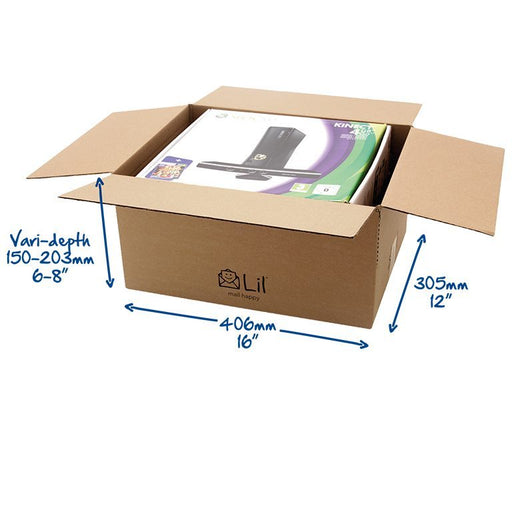 E6 Single Walled Cardboard Box