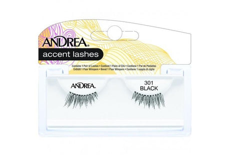 Andrea Accent Lash 301 BLACK