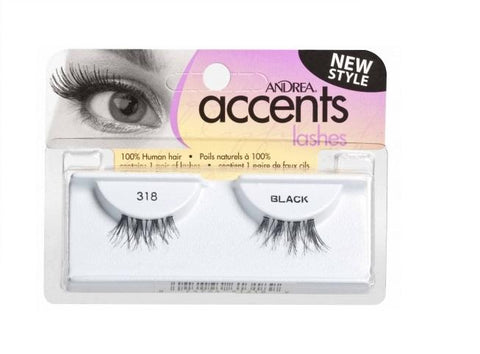Andrea Accent Lash 318 BLACK